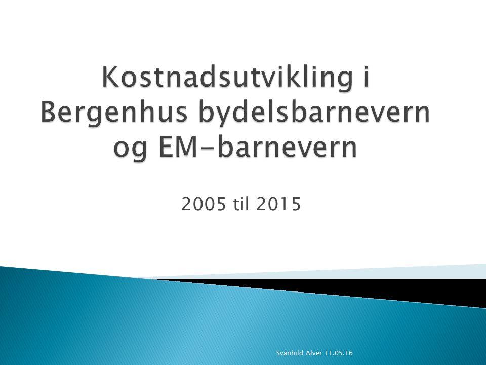 2005 til 2015 Svanhild Alver 11.05.16