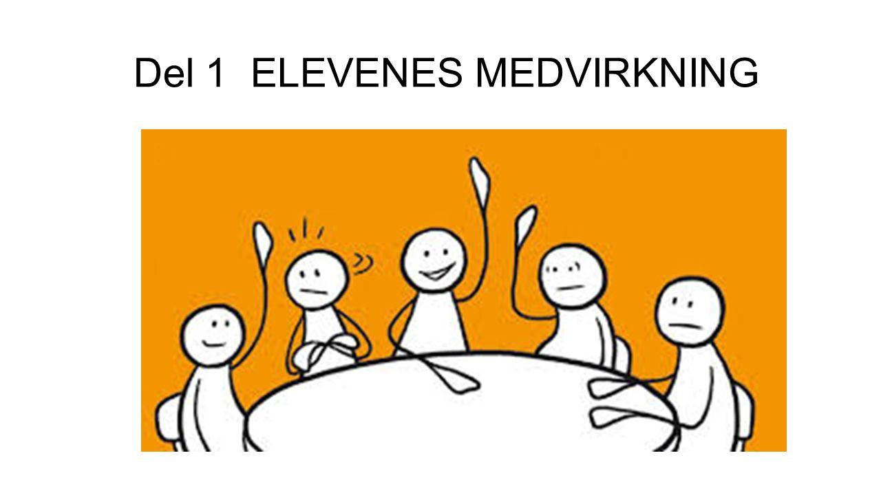 Del 1 ELEVENES MEDVIRKNING