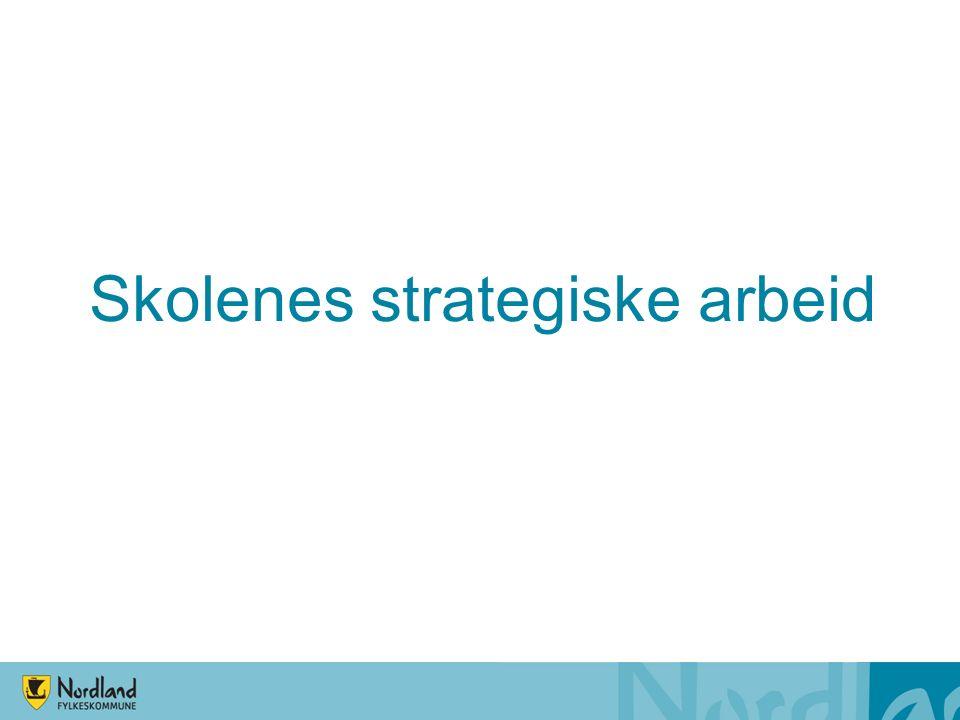 Skolenes strategiske arbeid