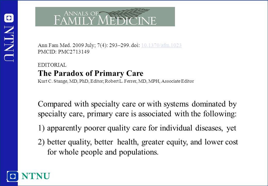 45 Ann Fam Med. 2009 July; 7(4): 293–299.