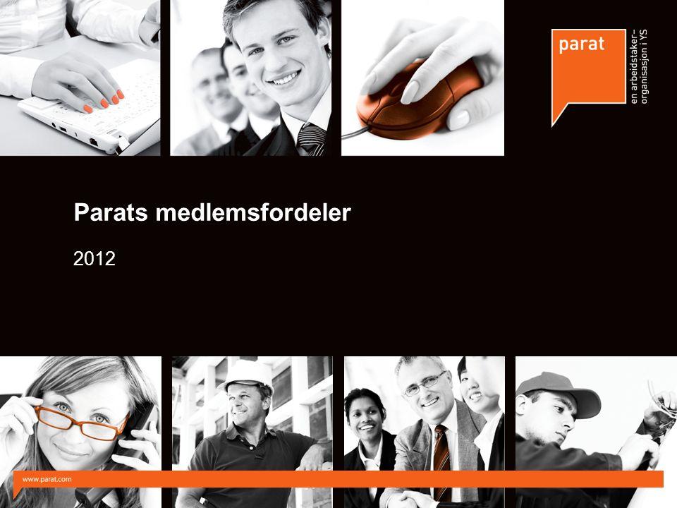 Parats medlemsfordeler 2012