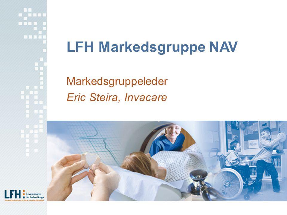 LFH Markedsgruppe NAV Markedsgruppeleder Eric Steira, Invacare