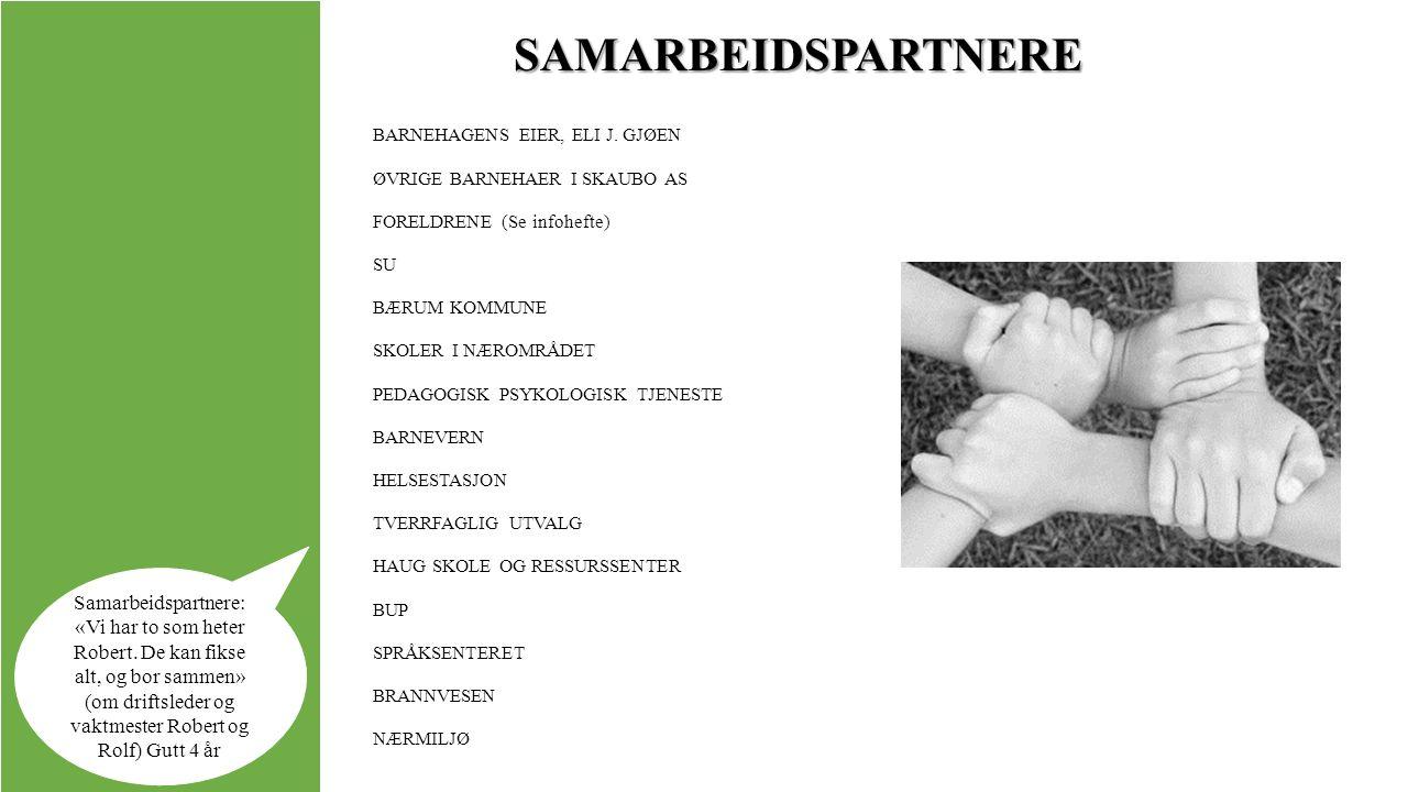 SAMARBEIDSPARTNERE BARNEHAGENS EIER, ELI J.