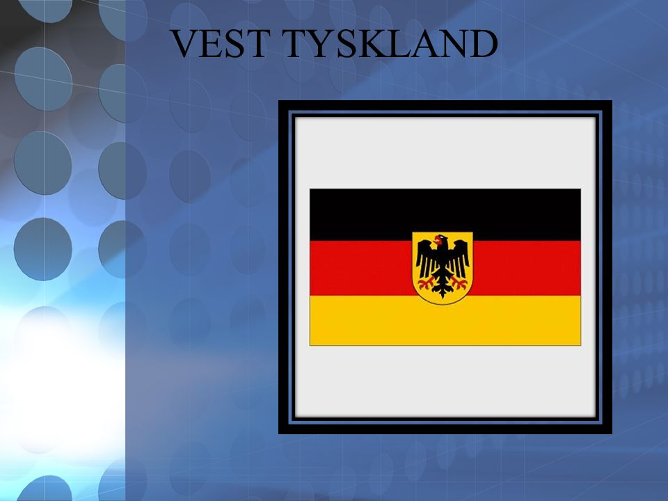 VEST TYSKLAND