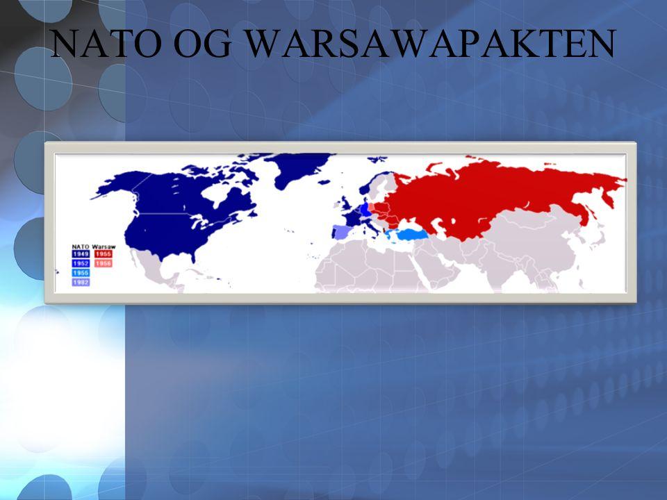 NATO OG WARSAWAPAKTEN