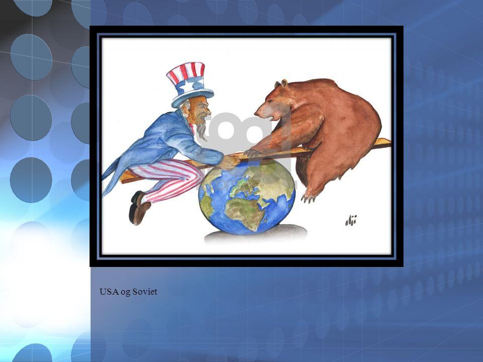 USA og Soviet