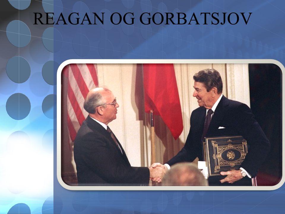 REAGAN OG GORBATSJOV