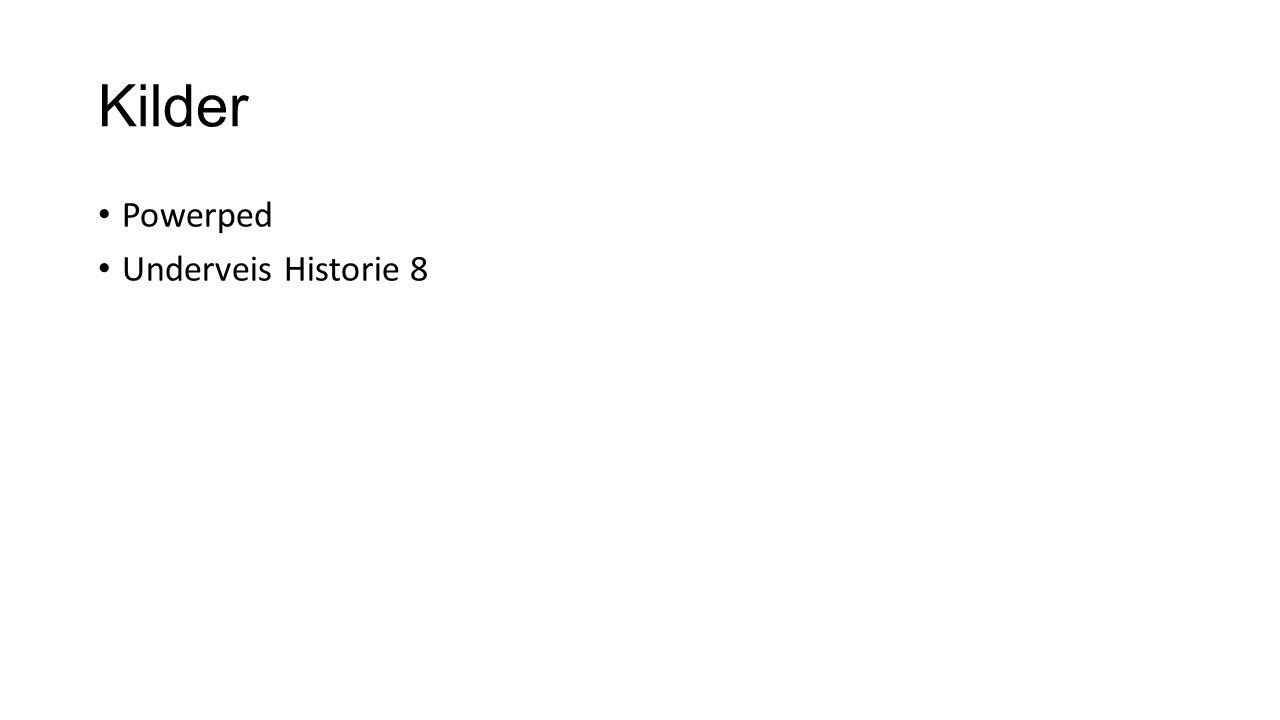 Kilder Powerped Underveis Historie 8