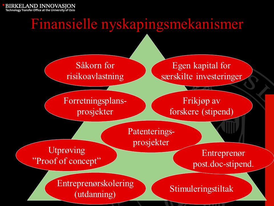 Utfordringer Kompetanse –Vurdering av prosjekter –Utvikling av prosjekter –Internasjonalt nettverk Driftsmidler –Dyrt å drive –Små investeringer Nasjonal koordinering I den politiske geografien i Norge er ikke Østlandet en region