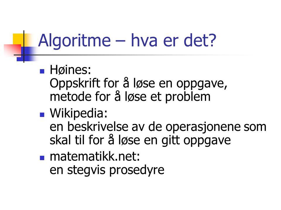 Rockström: Få elever tycker att algoritmeräkning är interessant eller rolig.