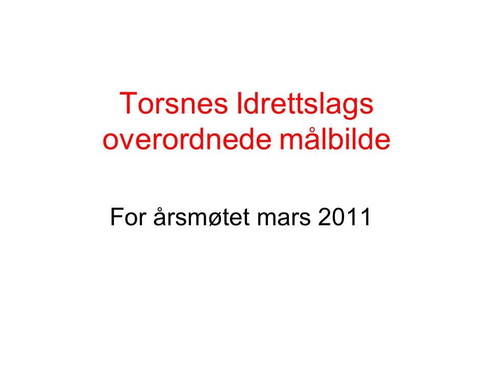 Torsnes Idrettslags overordnede målbilde For årsmøtet mars 2011