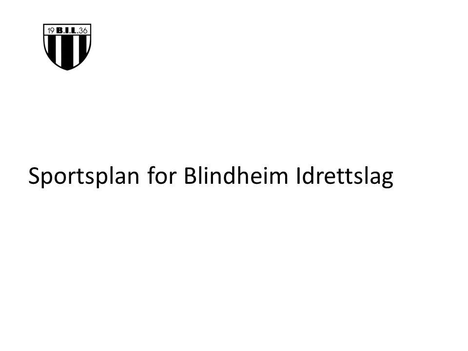 Sportsplan for Blindheim Idrettslag