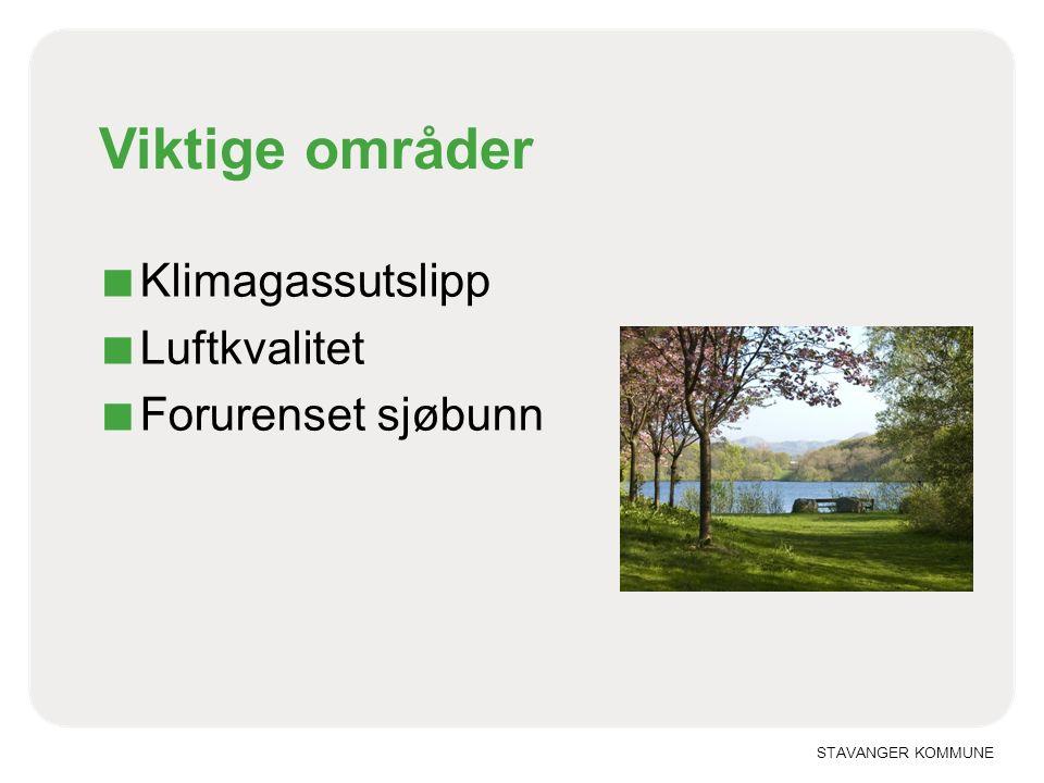 STAVANGER KOMMUNE Luftkvaliteten i Stavanger (PM10)