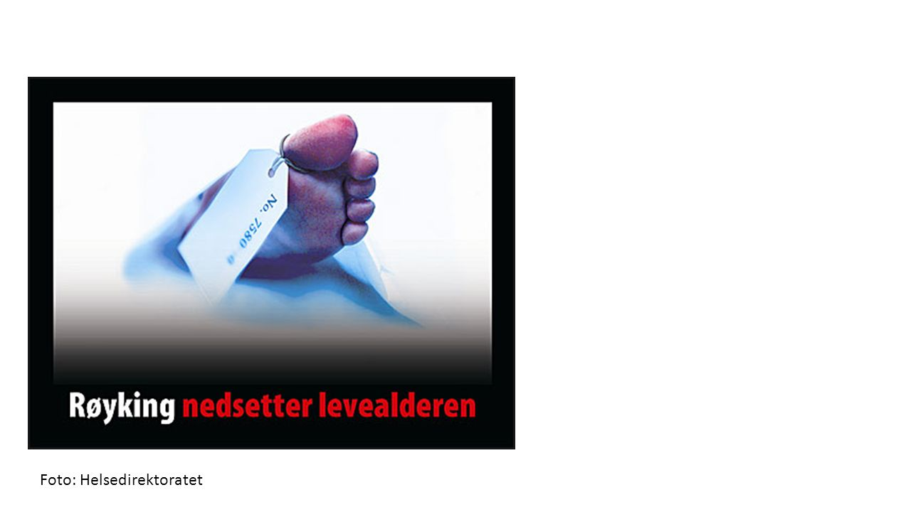 Foto: Helsedirektoratet