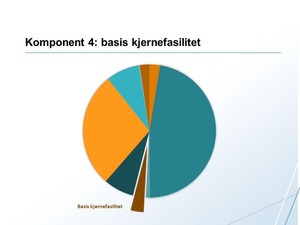 Komponent 4: basis kjernefasilitet