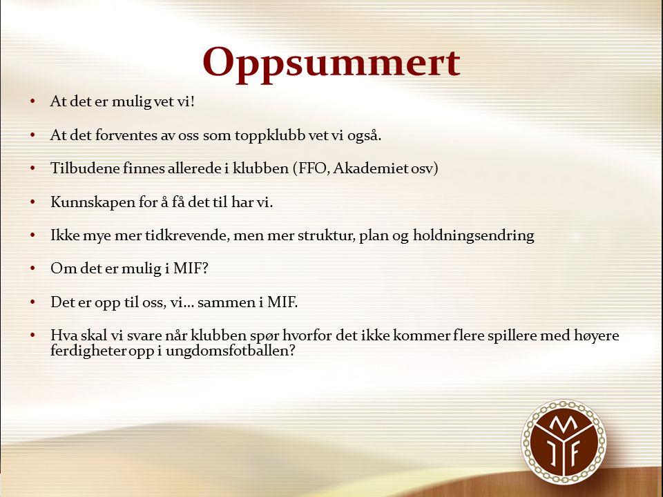 «Trening på tvers» Nivåøkt.