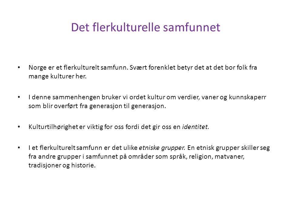 Religioner og livssyn Fellesskap er viktig i religion Kristendommen er en viktig del av norsk kultur.