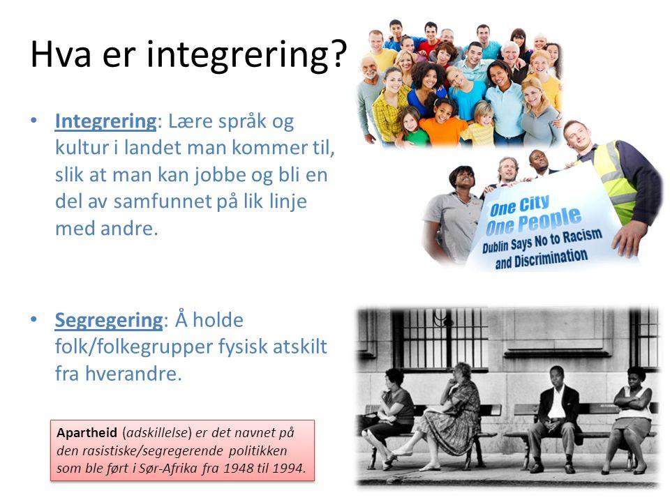 Hva er integrering.