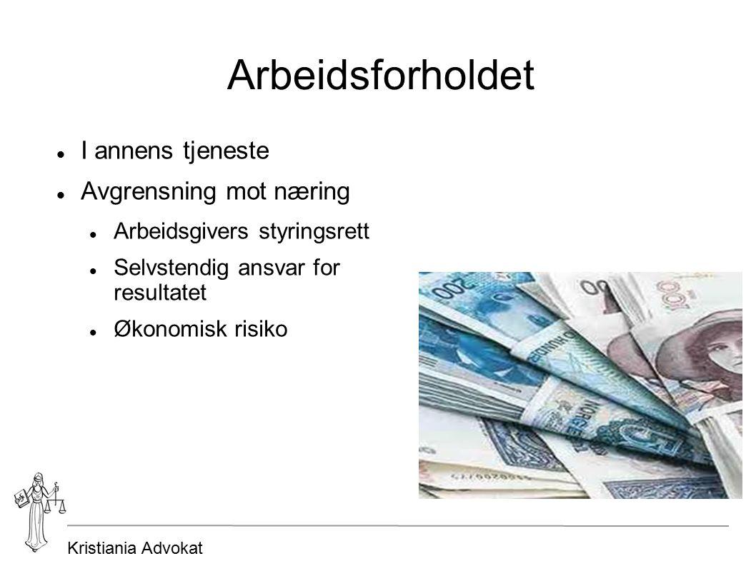 Kristiania Advokat Oppsigelse etter prøvetidens utløp ved fast ansettelse Oppsigelsesgrunner Frister