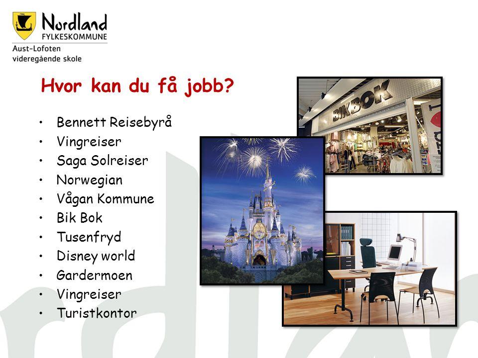 Hvor kan du få jobb.
