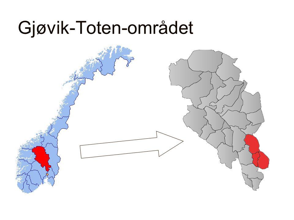 Gjøvik-Toten-området