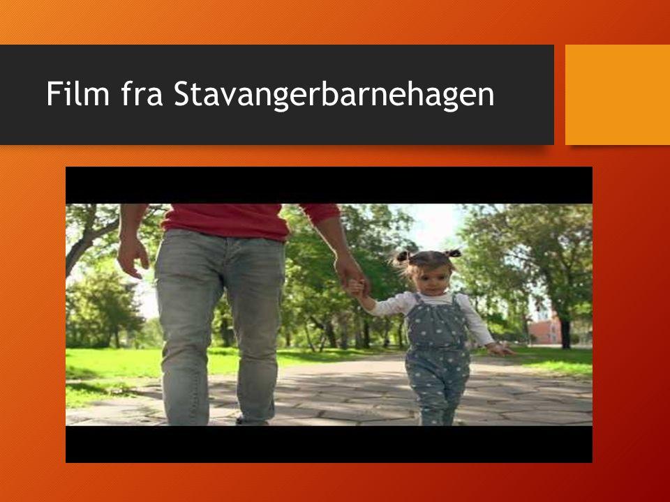 Film fra Stavangerbarnehagen