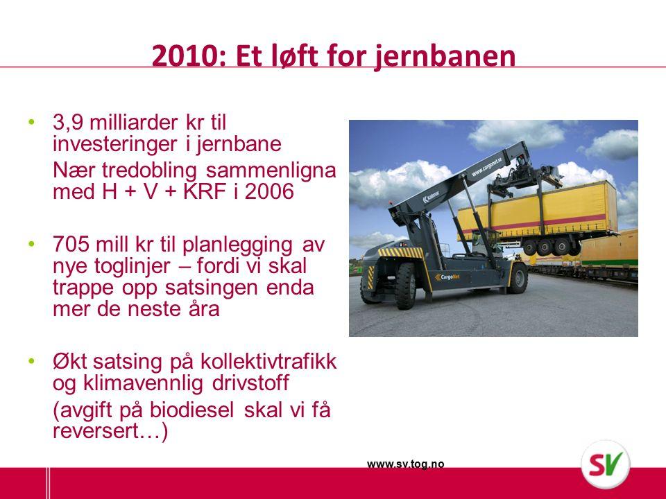 Milliarder til jernbanen på Nord-Jæren 2,2 milliarder til nytt dobbelspor Sandnes - Stavanger En halv milliard til ny godsterminal på Ganddal Paradis Ganddal