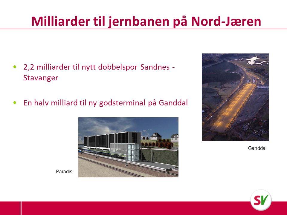 Ryfast og Rogfast – klimabomber Biltrafikken vil øke – det samme vil køer og trengsel i Stavanger Økte klima- og miljøutslipp Sats på kollektivtilbud og raske miljøferjer www.sv.tog.no