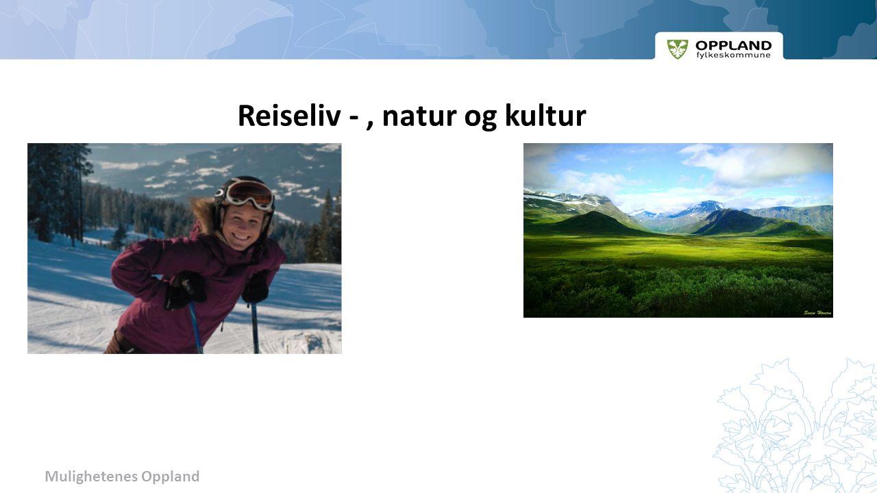 Mulighetenes Oppland Reiseliv -, natur og kultur