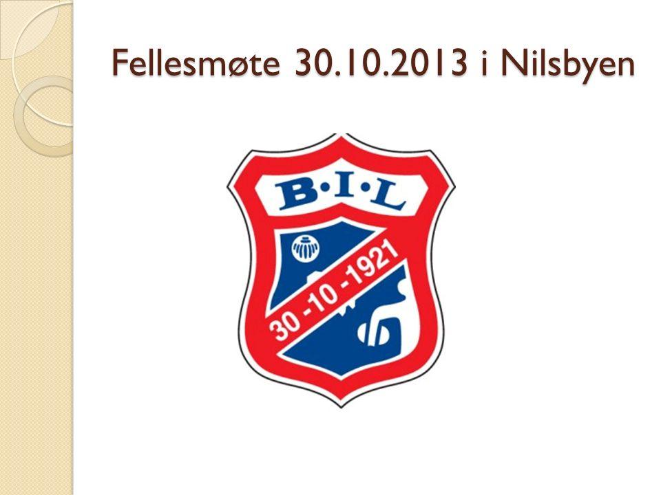 Fellesmøte 30.10.2013 i Nilsbyen