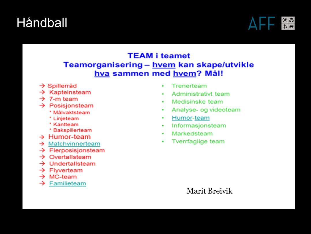 Håndball Marit Breivik