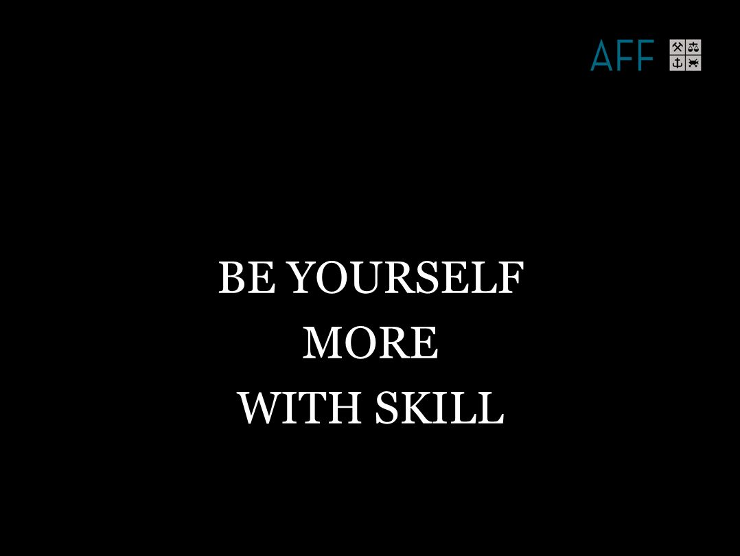 R Goffee & G Jones 2014 BE YOURSELF MORE WITH SKILL