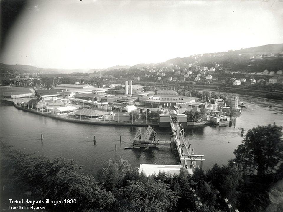 Trøndelagsutstillingen 1930 Trondheim Byarkiv