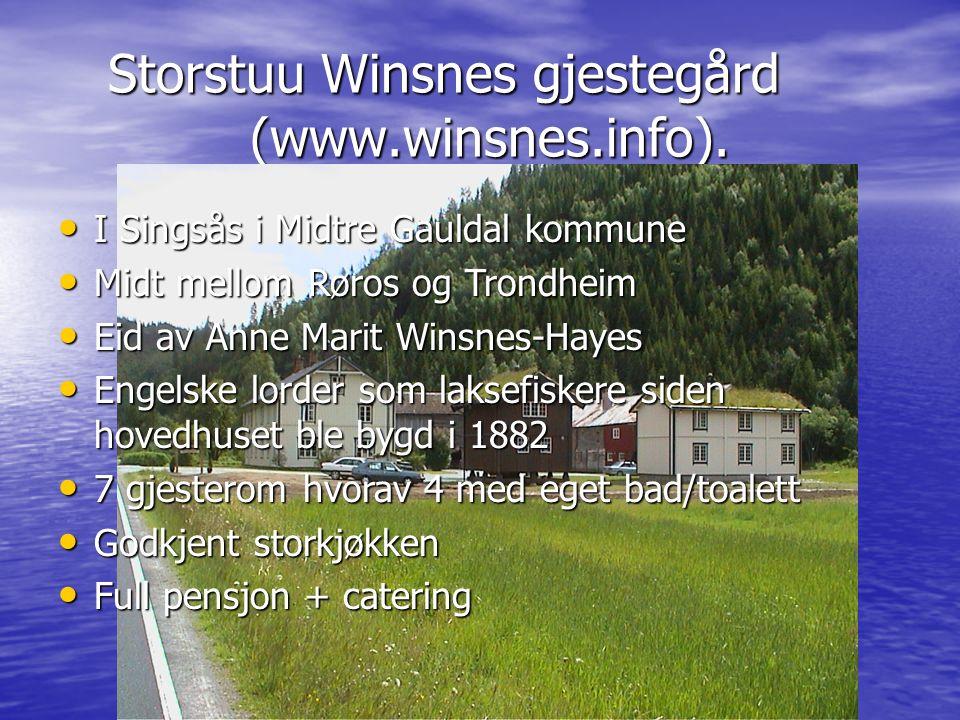 Storstuu Winsnes gjestegård (www.winsnes.info). Storstuu Winsnes gjestegård (www.winsnes.info).