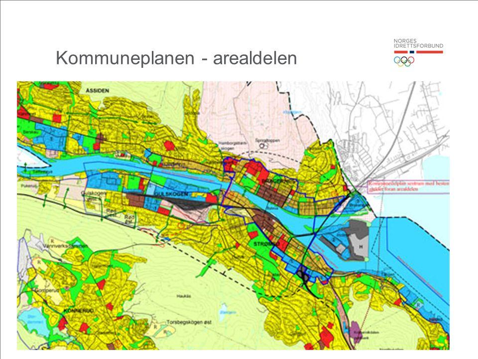 Kommuneplanen - arealdelen