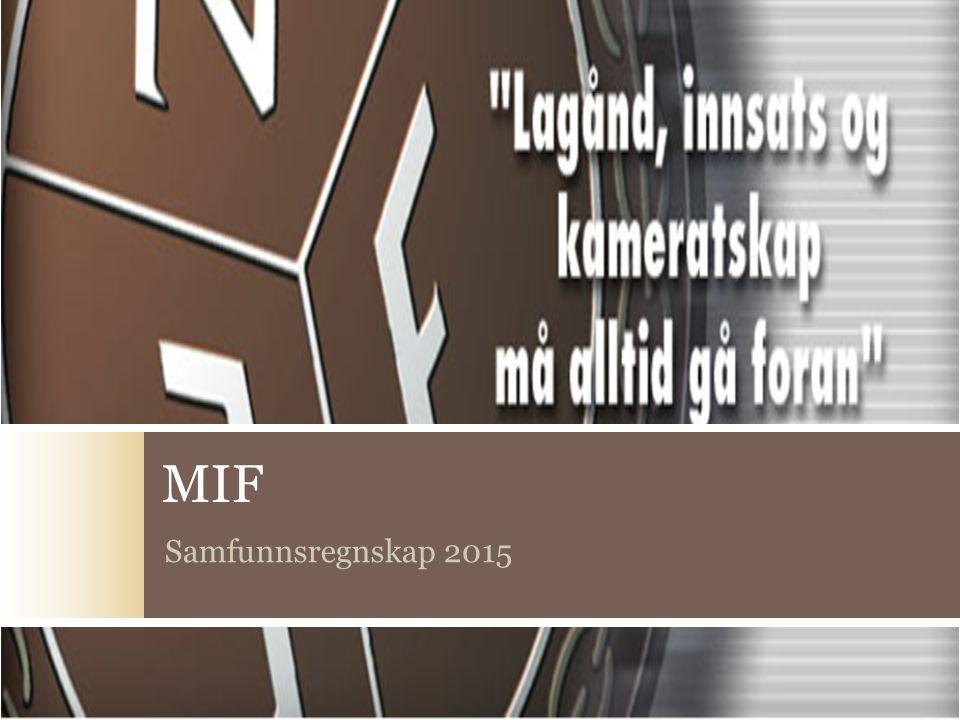 MIF Samfunnsregnskap 2015