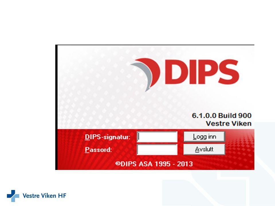 Registrering i DIPS