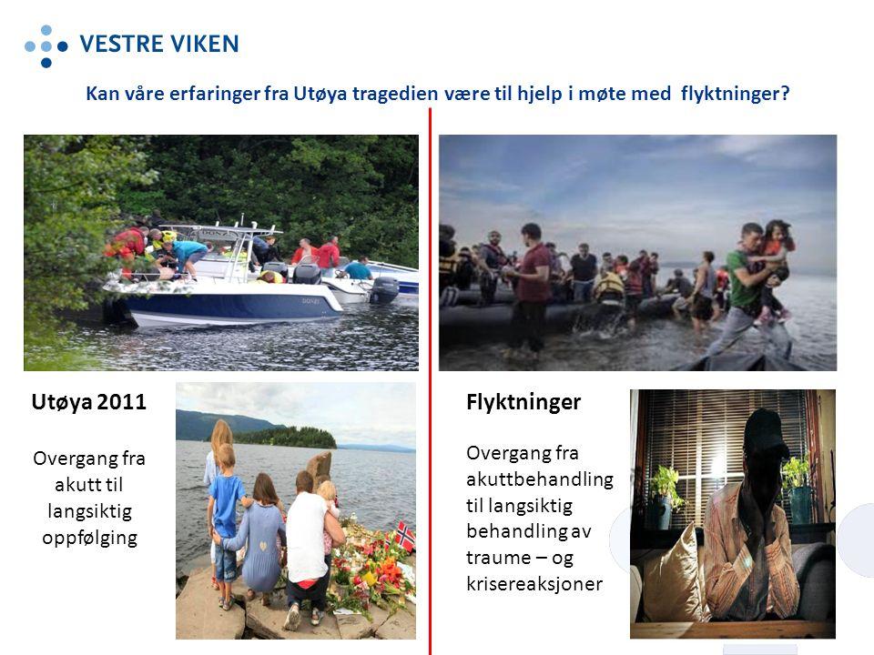 Kan våre erfaringer fra Utøya tragedien være til hjelp i møte med flyktninger.