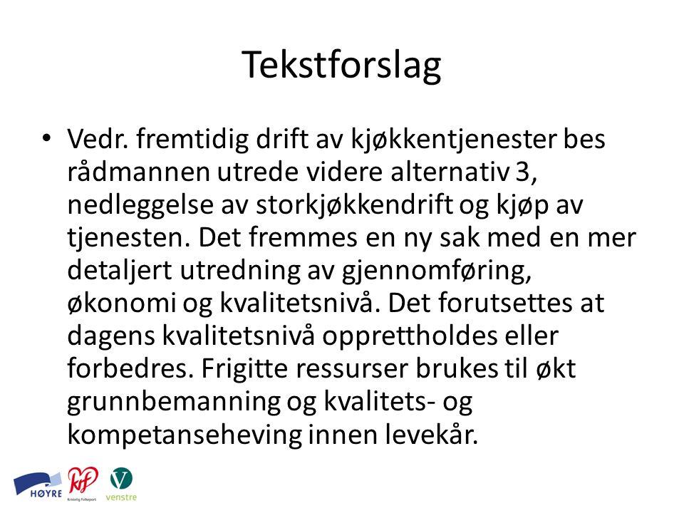Tekstforslag Vedr.