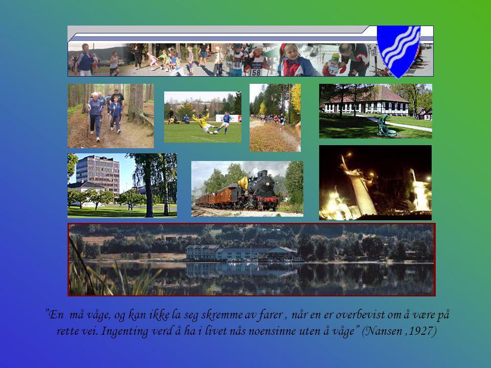 Modum Bygd med driv – for bedre liv ! B est i landet - på helse, kultur og idrett for alle !