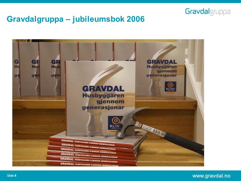 www.gravdal.no Side 4 Gravdalgruppa – jubileumsbok 2006