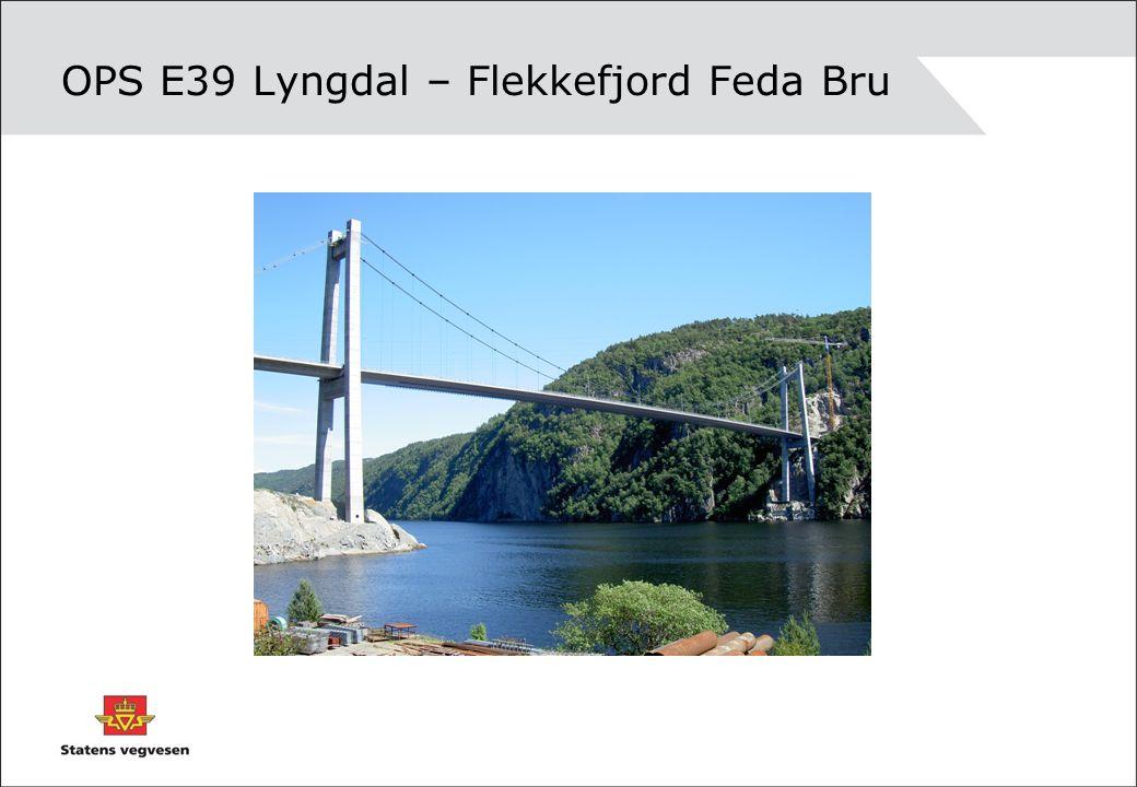 OPS E39 Lyngdal – Flekkefjord Feda Bru