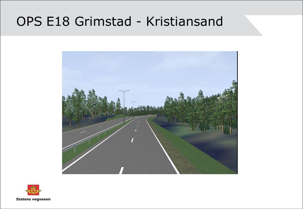 OPS E18 Grimstad - Kristiansand