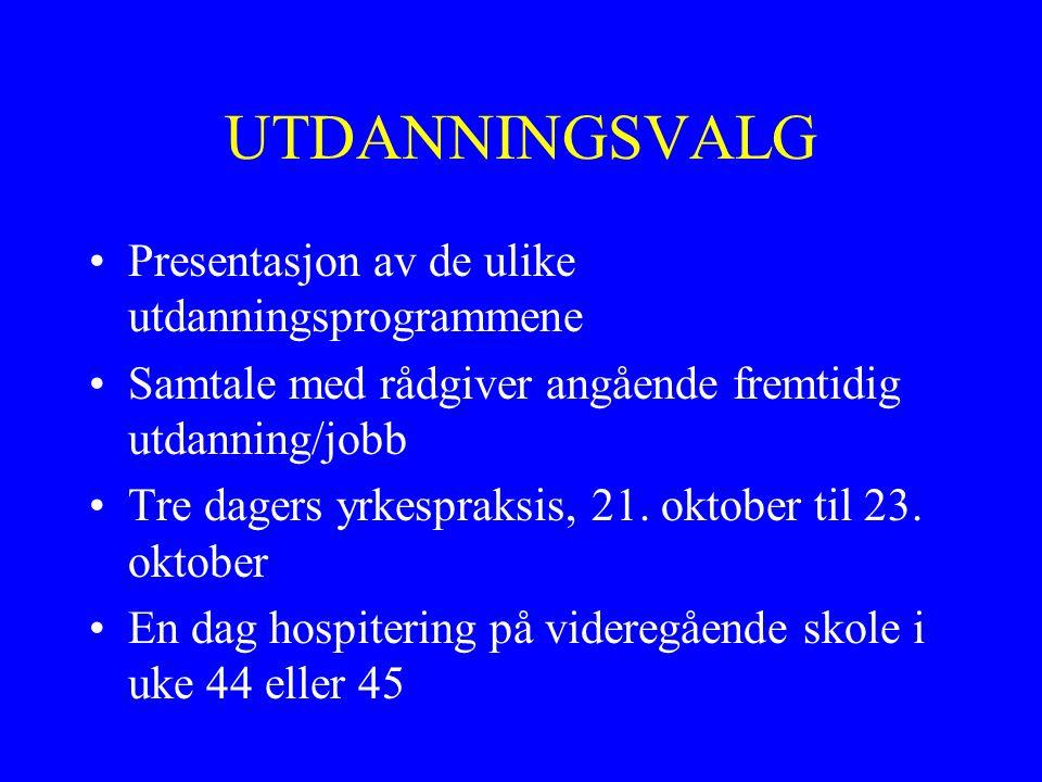 Utdanningsmesser, Stavanger Forum 25.november og 26.