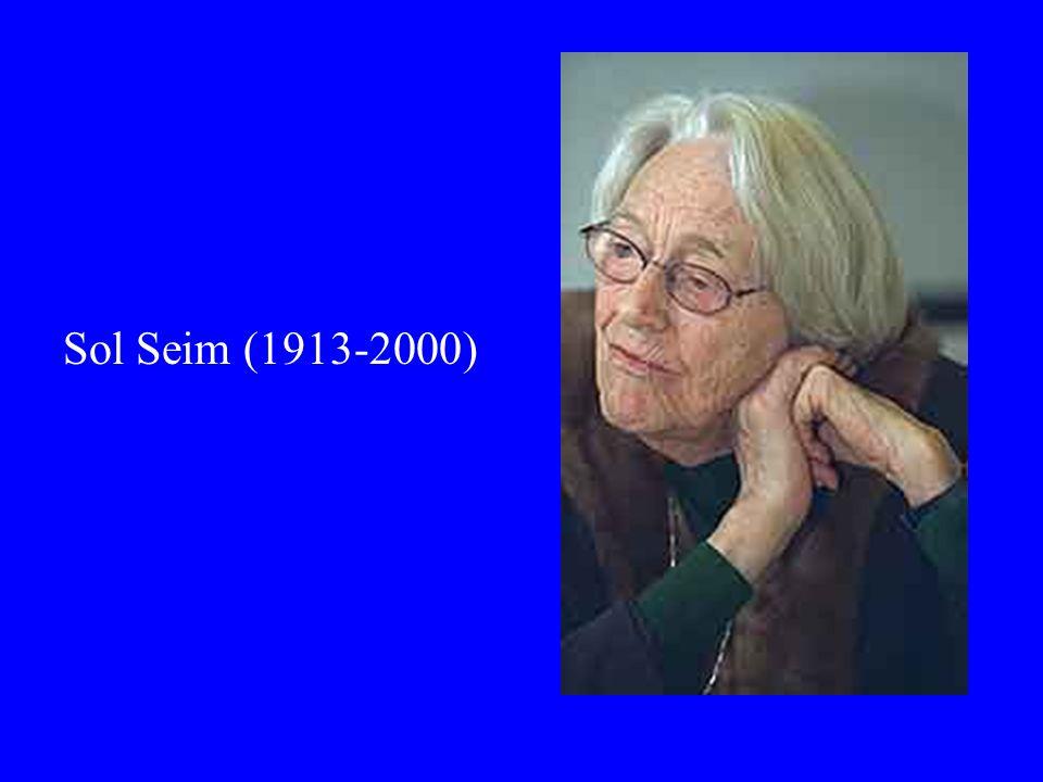 Sol Seim (1913-2000)