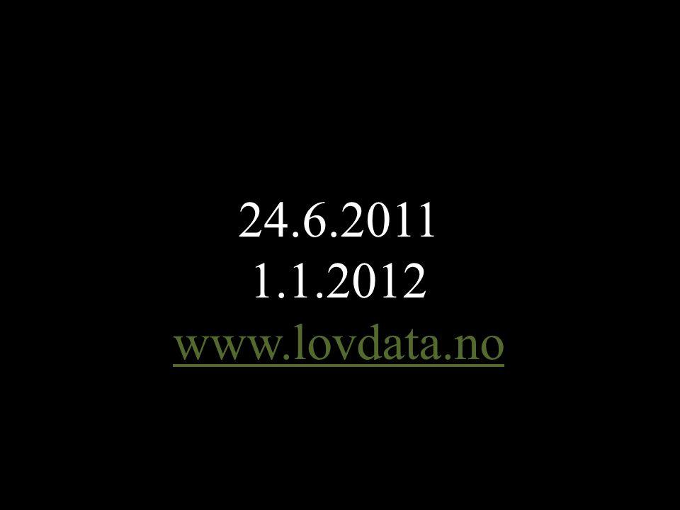 | | 66 24.6.2011 1.1.2012 www.lovdata.no
