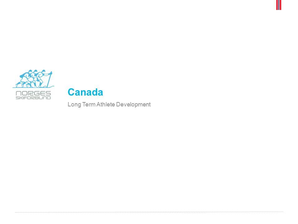 Canada Long Term Athlete Development