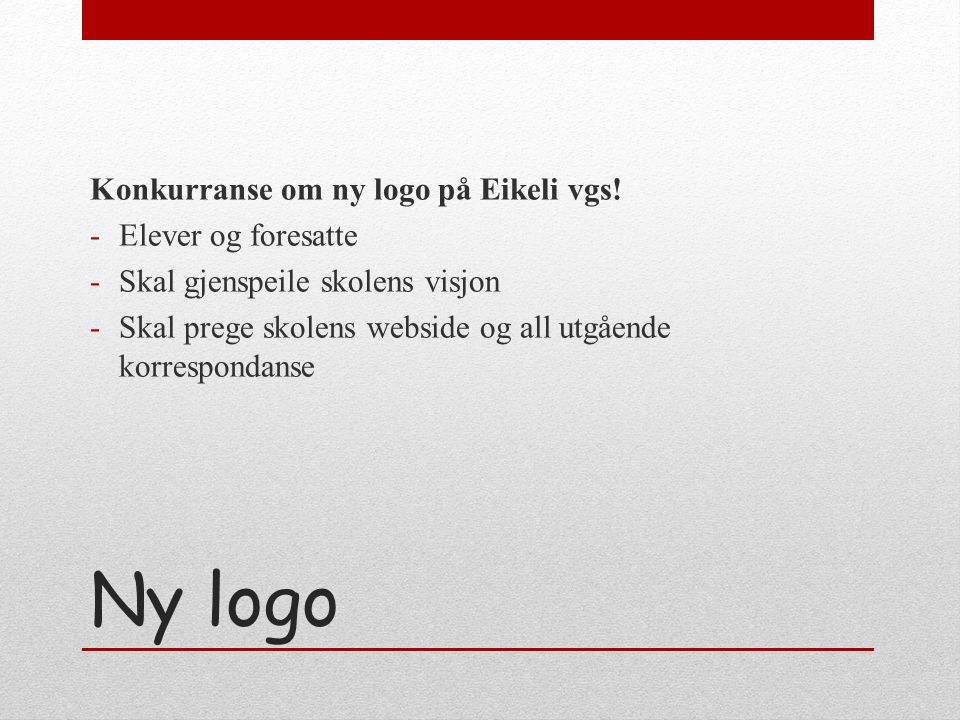 Realfagsfløy og bibliotek Klar til bruk i uke 41 Søker elev-veiledere i fremmedspråk og matematikk fra Vg2 og Vg3 Skal undervise Vg1 på onsdager