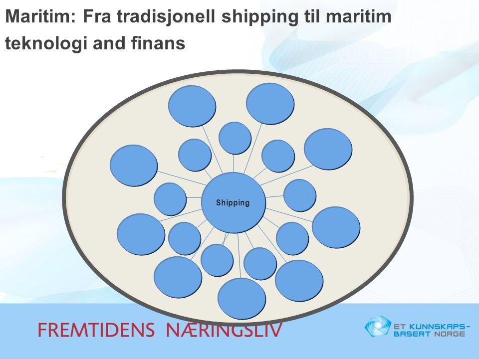 Maritim: Fra tradisjonell shipping til maritim teknologi and finans Shipping
