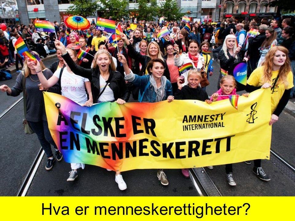 Hva er menneskerettigheter?